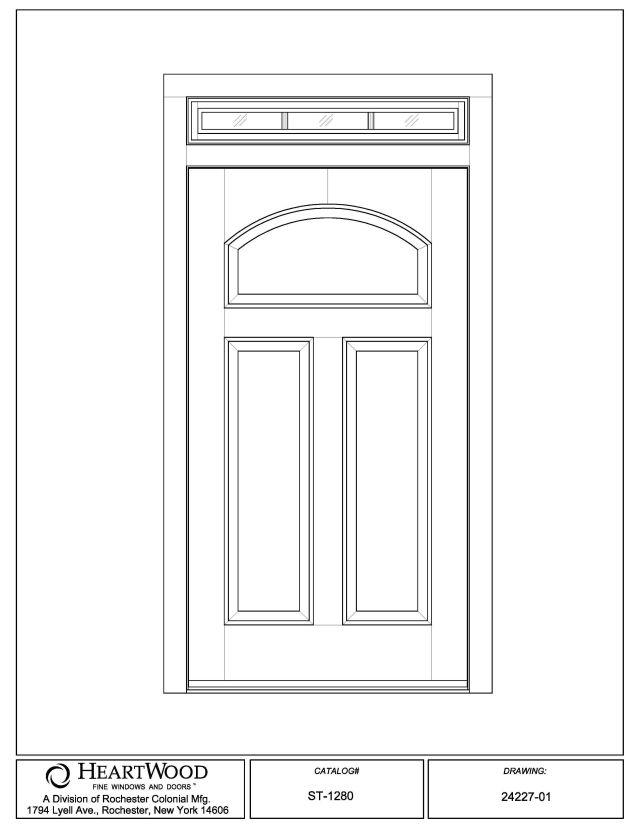 Single Doors w/ Transom   custom wood single door transom lite panel raised IG SDL   HeartWood  sc 1 st  HeartWood Windows & Single Doors w/ Transom   custom wood single door transom lite ...