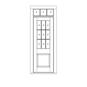 ST-1190  sc 1 st  HeartWood Windows and Doors : door transom panel - pezcame.com